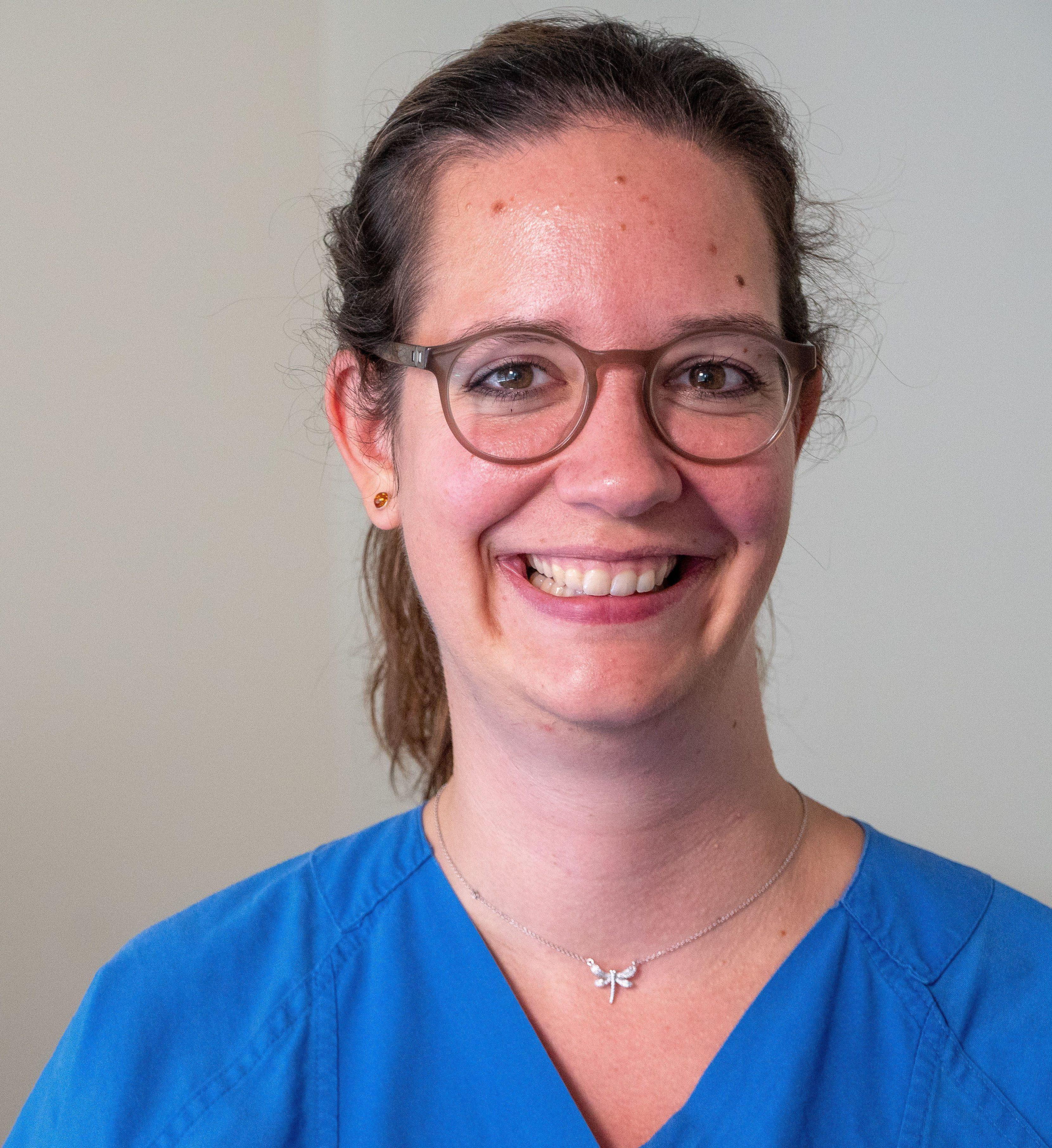 Gesche Kranz ist Kinderkrankenschwester in Berlin und arbeitet in einem Projekt in Eritrea.